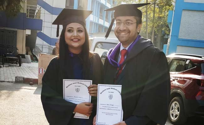 A Day In The Life Of Young Delhi Doctor Couple, Both Covid Warriors