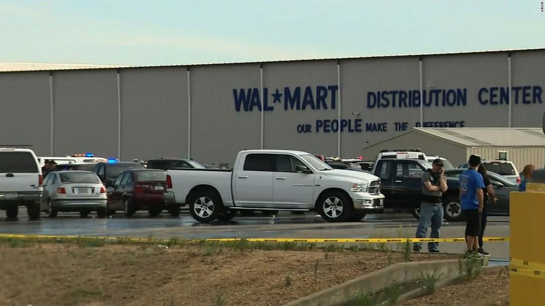 At least 2 dead, 4 injured in shooting at California Walmart distribution center, officials say