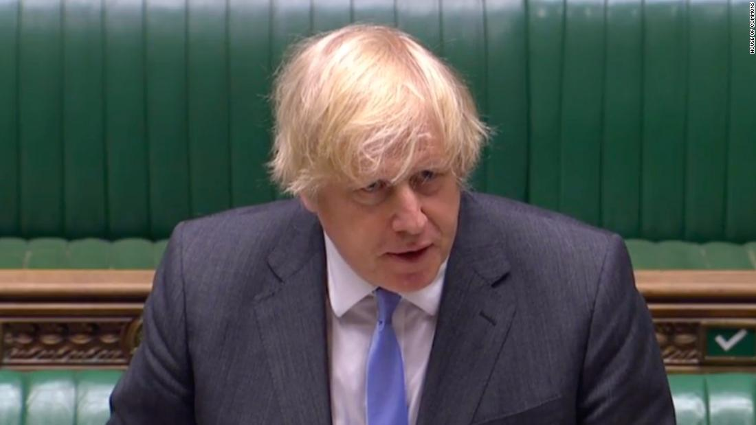 UK Prime Minister Boris Johnson unveils big lockdown relaxation
