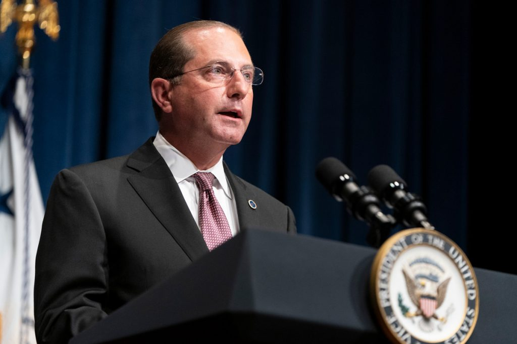 HHS Sec. Azar states 'window is closing' to curb coronavirus surge