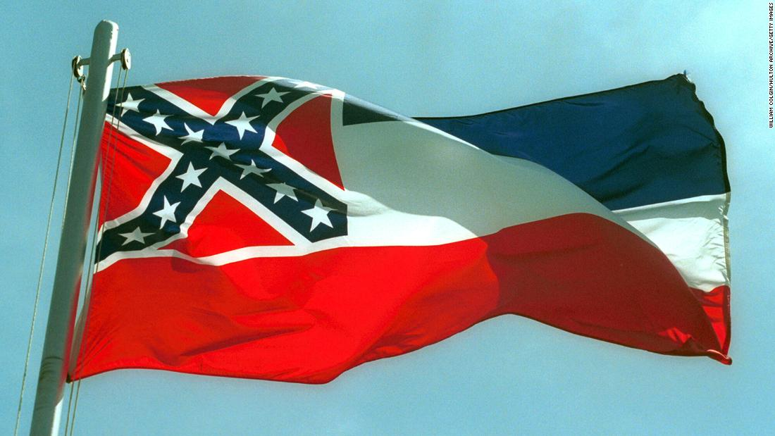 Mississippi state legislature passes bill to remove confederate symbol from state flag in historic vote