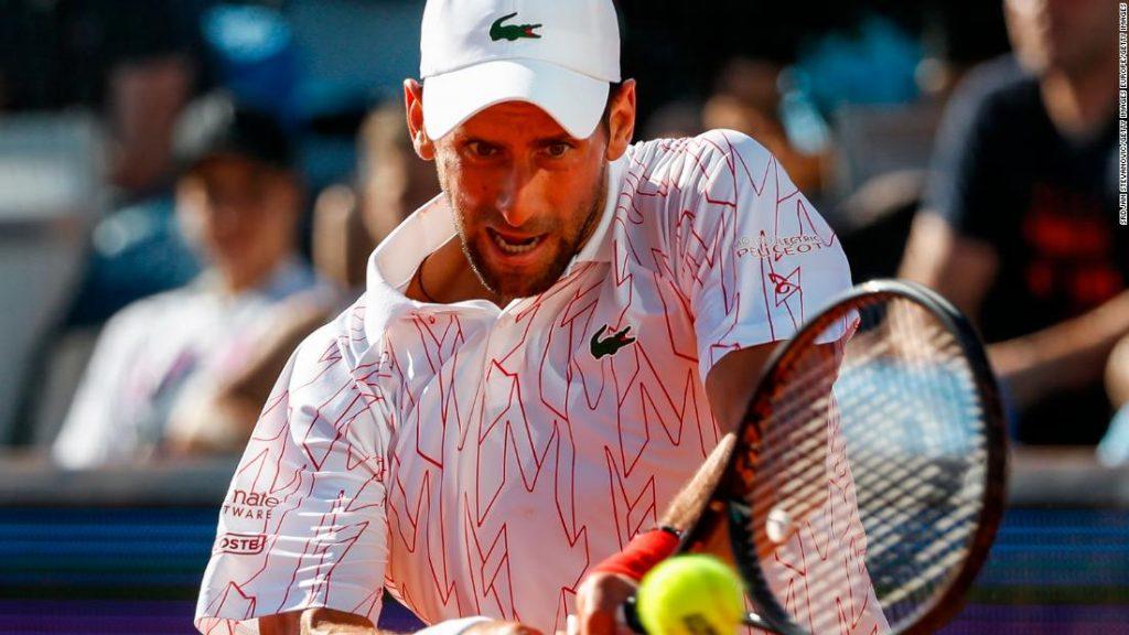 Novak Djokovic tests positive for coronavirus after Adria Tour event