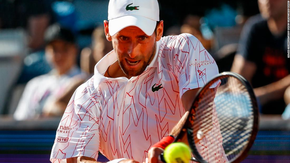Novak Djokovic tests positive for coronavirus after Adria Tour event