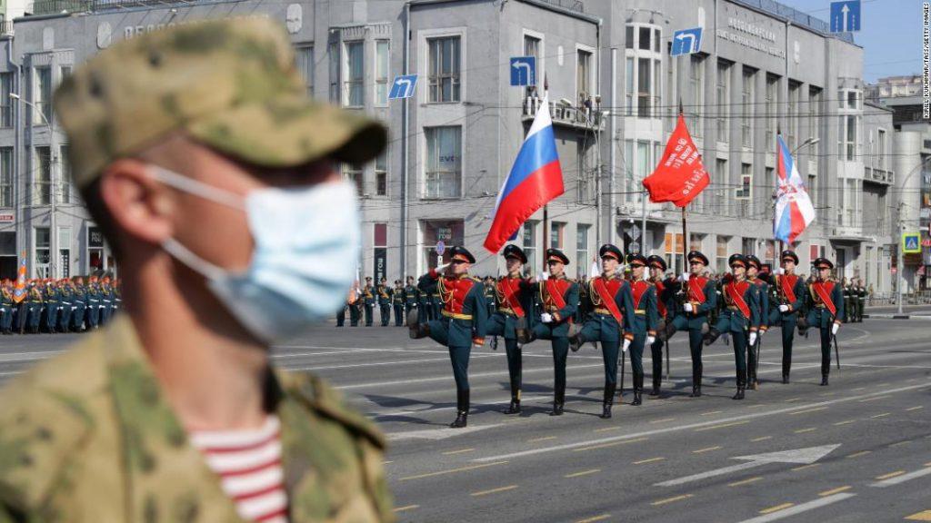 Russia kicks off lavish Victory Day parade following coronavirus delay