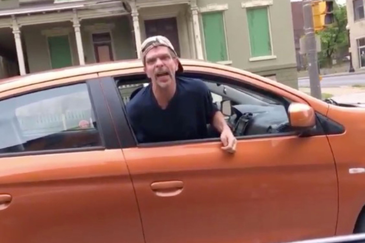 Upstate NY man caught on video shouting N-word at black driver