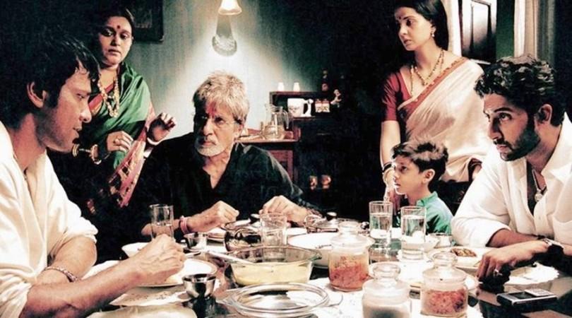 Key Key Menon, Amitabh and Abhishek Bachchan in Sarkar