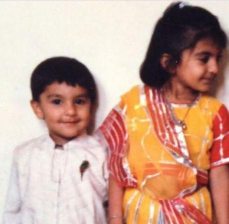 Ranveer Singh with Ritika Bhavnani