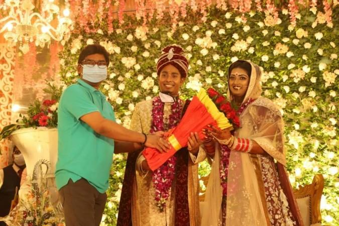 Hemant Soren attend wedding