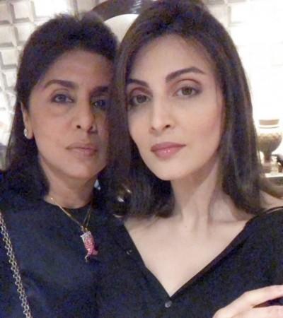 Riddhima and Neetu Kapoor