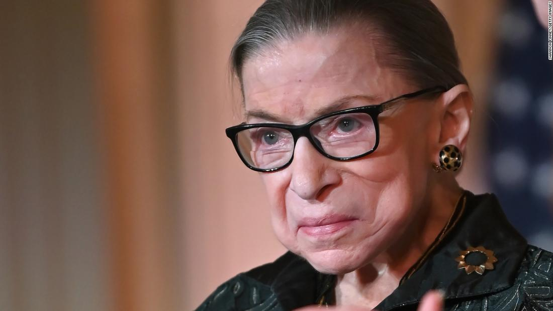 Ruth Bader Ginsburg announces cancer recurrence
