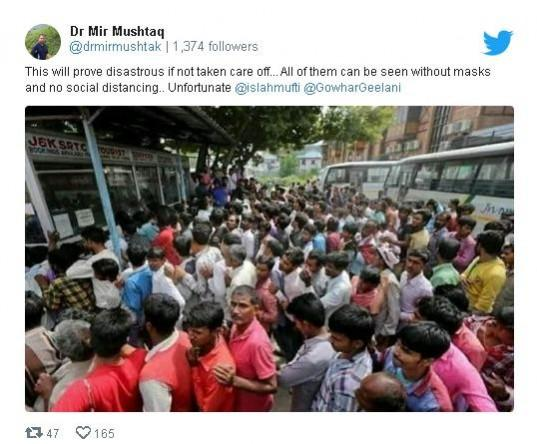 Picture of J&K migrants from 2019 wrongly shared in connection with COVID-19