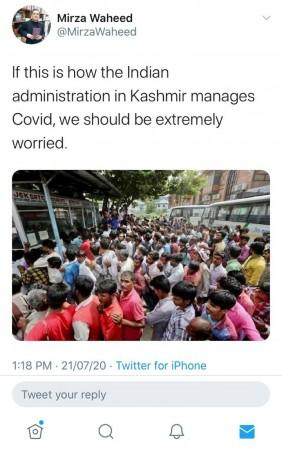 Picture of J&K migrants from 2019 falsely shared in connection with COVID-19