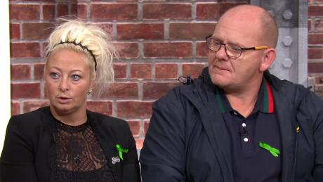 The 19-year-old's family have said they will not stop campaigning for justice. Pictured, Dunn's parents Charlotte Charles and Tim Dunn on CNN's New Day.