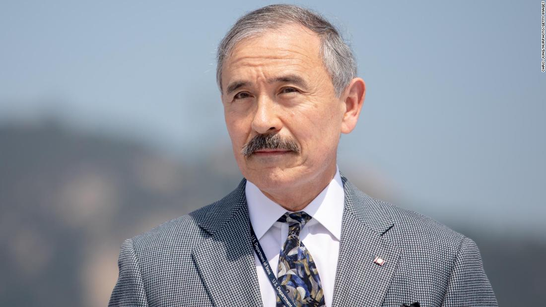 US ambassador to South Korea, Harry Harris, shaves off controversial mustache