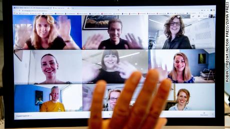 Why we can't stop waving at the end of video calls
