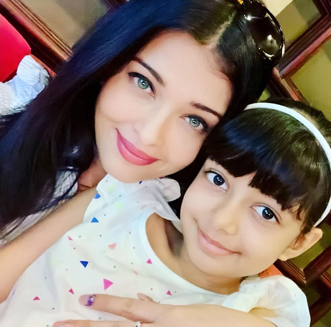 Aishwarya Rai, daughter Aaradhya