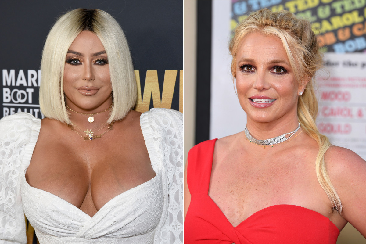 Aubrey O'Day says she has a 'hard time believing' Britney Spears is being held prisoner