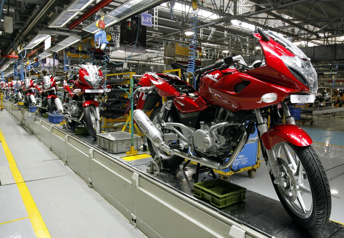 Bajaj Auto, Bajaj Auto plant in Pune