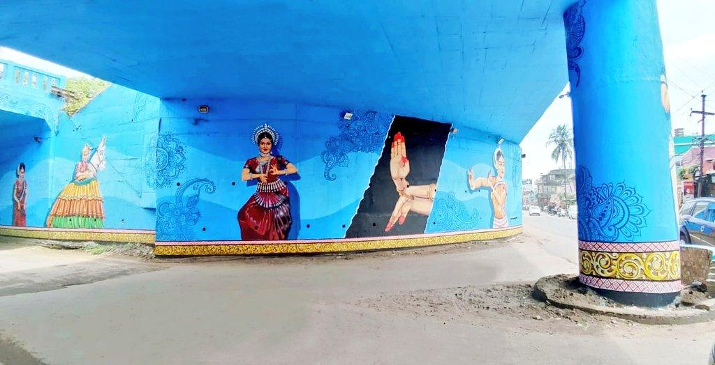 Beautiful murals breathe lifetime into lifeless walls of Cuttack [Photos]