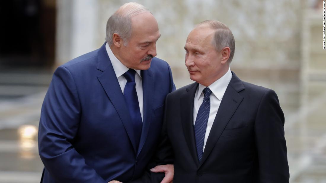 Belarus says it's arrested Russian mercenaries, as rift grows between strongmen Putin and Lukashenko