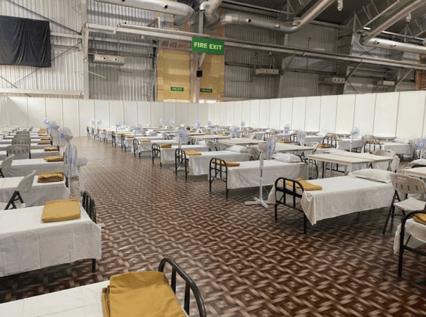 BIEC to become India's largest COVID care facility