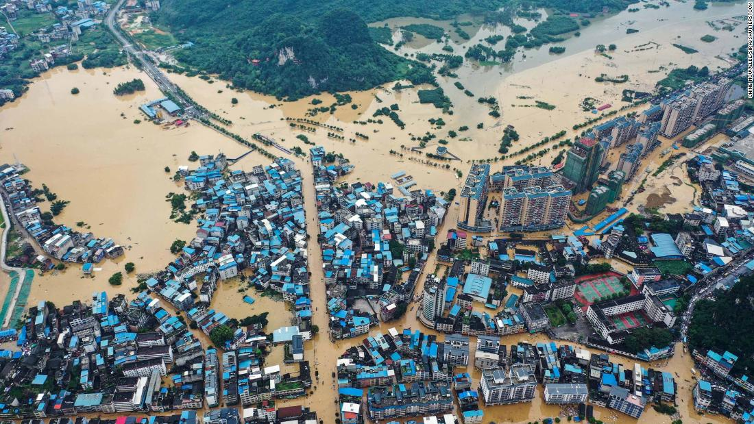 China has just contained the coronavirus. Now it's battling some of the worst floods in decades