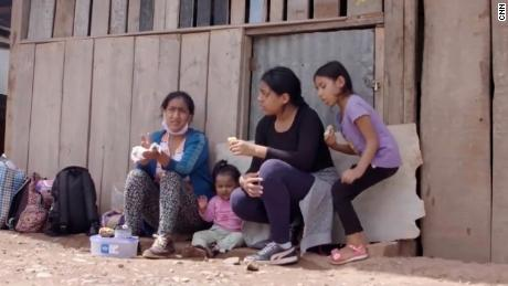 She walked hundreds of miles with her daughters to the Amazon to escape Covid-19