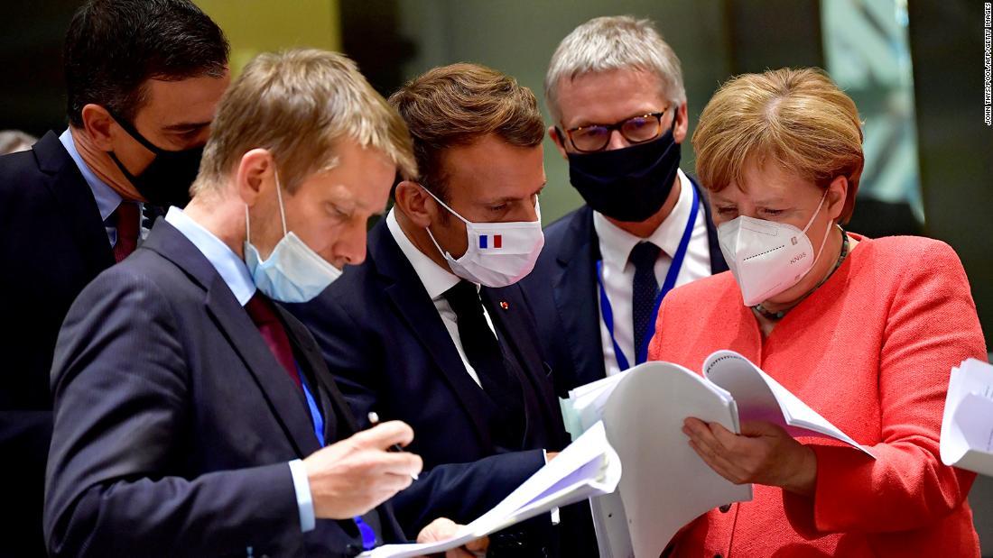EU leaders agree on landmark economic stimulus plan