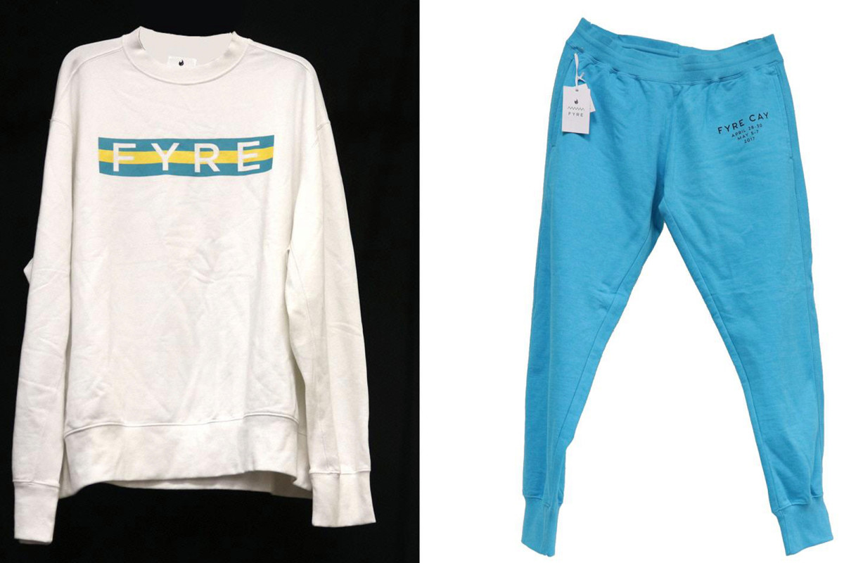 Fyre Festival-branded clothing up for auction