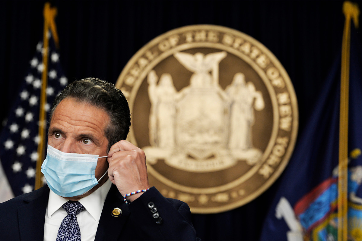 Gov. Cuomo, New York's nursing homes death are on you: Goodwin