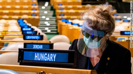 Ambassador Katalin Annamaria Bogyay FRSA, FWAAS, Permanent Representative of Hungary to the United Nations