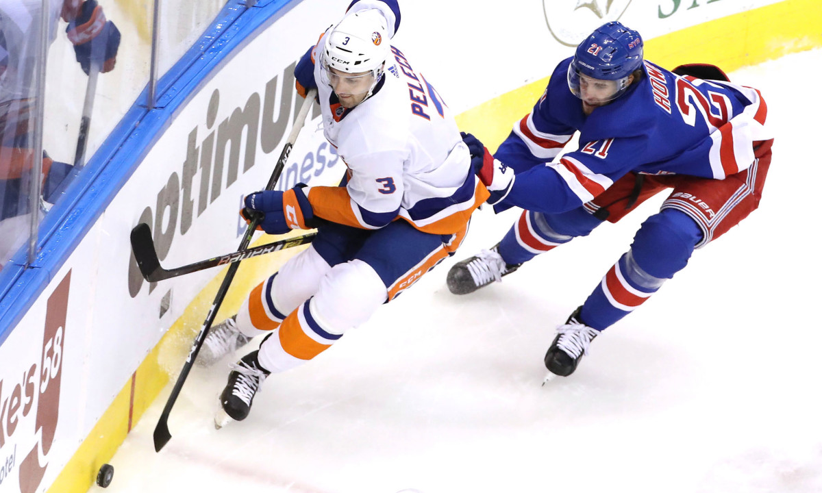 Islanders' Adam Pelech ready to go after shaking the rust off
