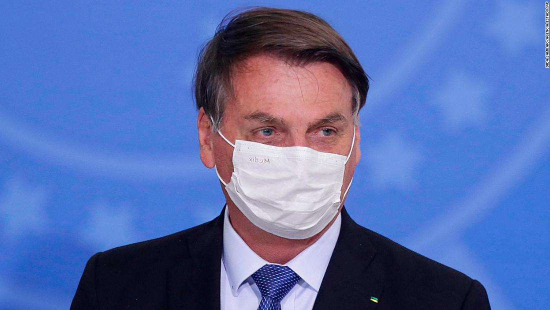 Jair Bolsonaro, Brazil's President, tests positive for the coronavirus