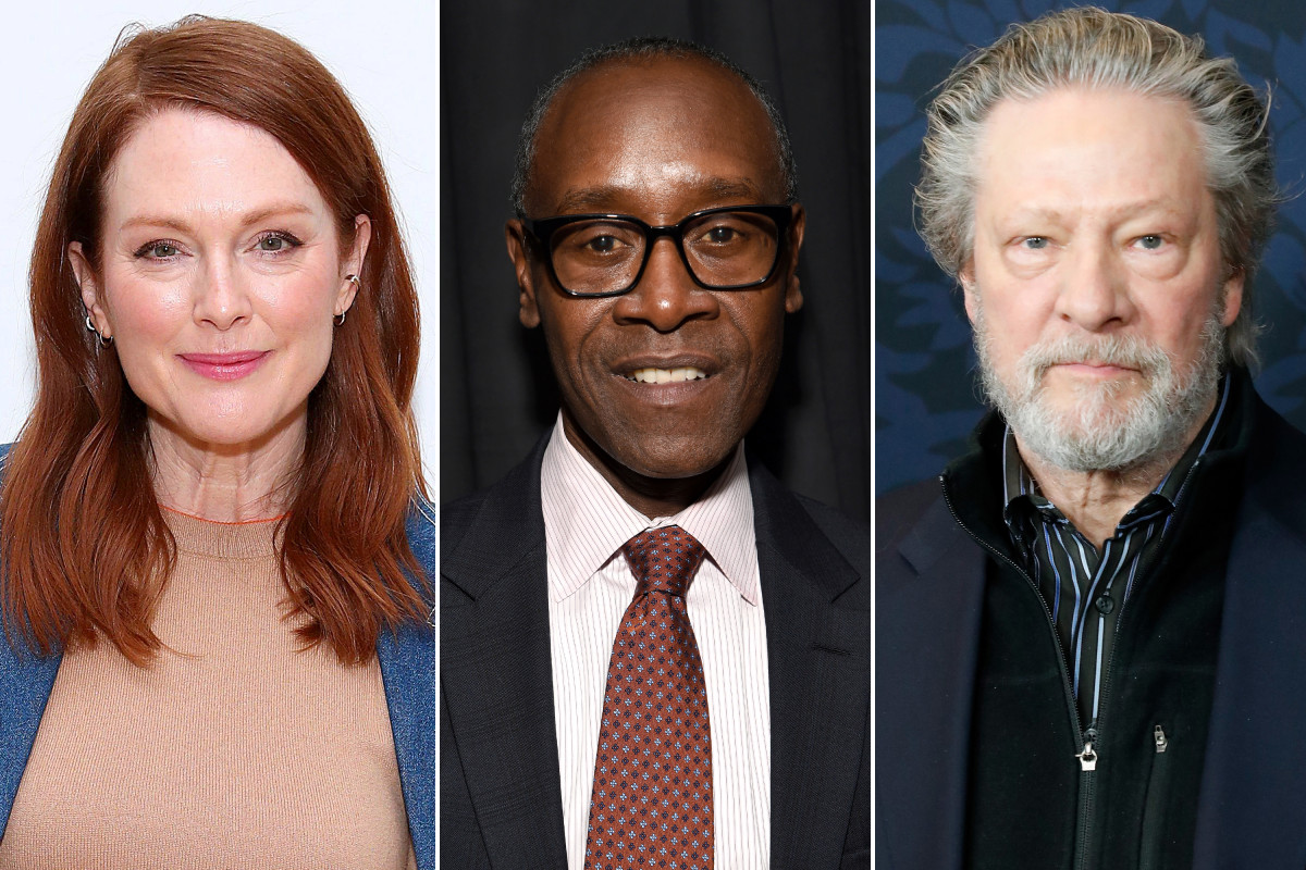 Julianne Moore, Don Cheadle, Chris Cooper and more cast in lockdown anthology 'With/In'