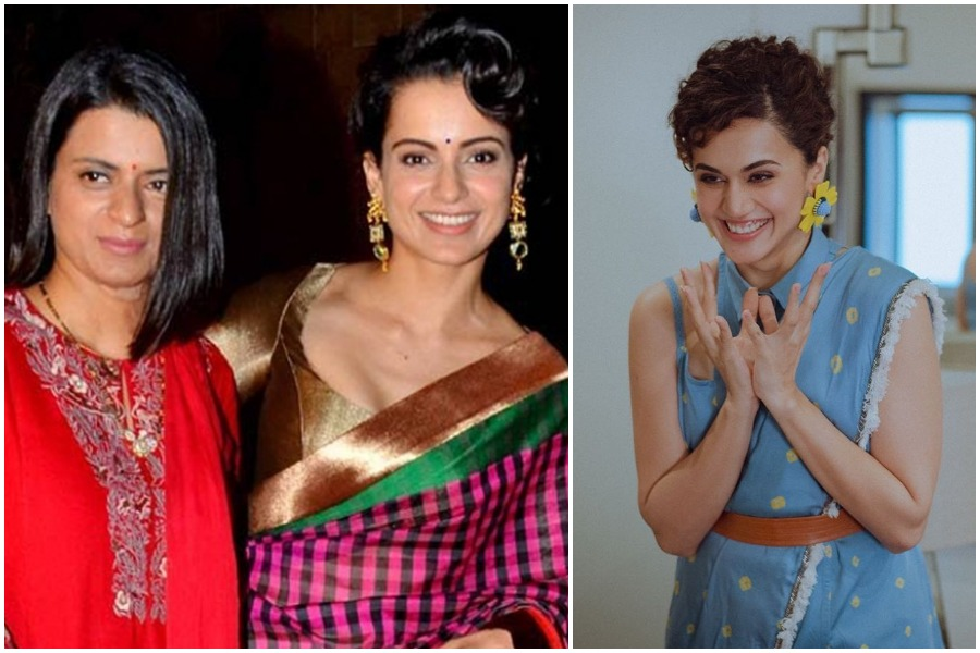 Taapsee Pannu takes dig at Kangana Ranaut and Rangoli Chandel