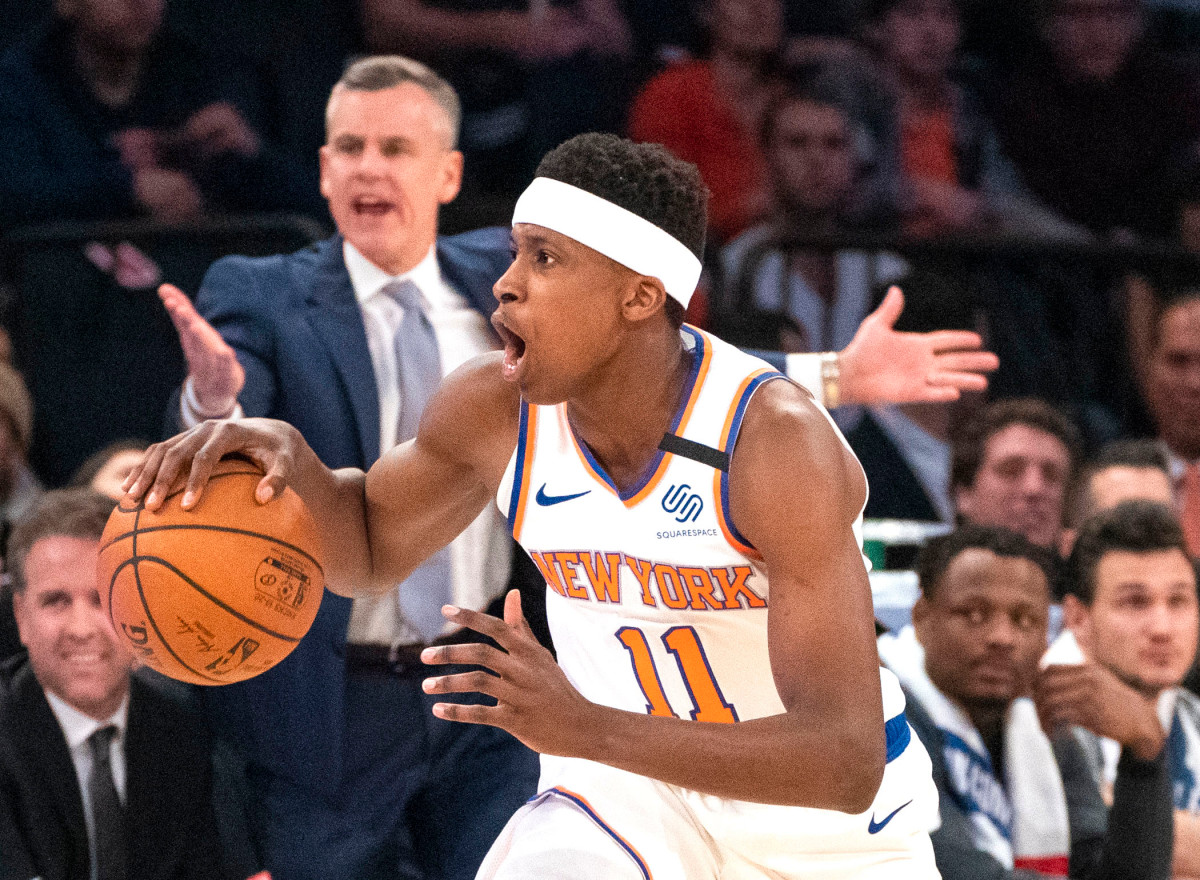 Knicks' Frank Ntilikina playing in France summer tournament
