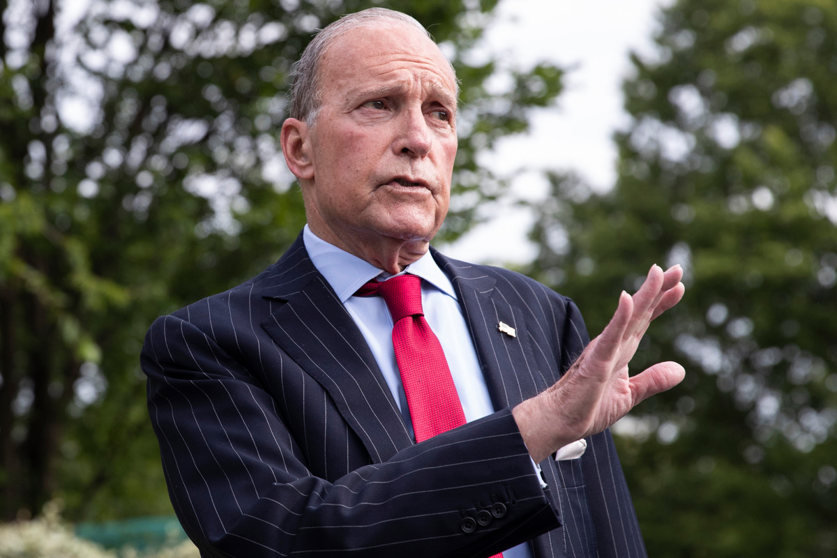 Larry Kudlow says 4th round of COVID-19 stimulus relief coming