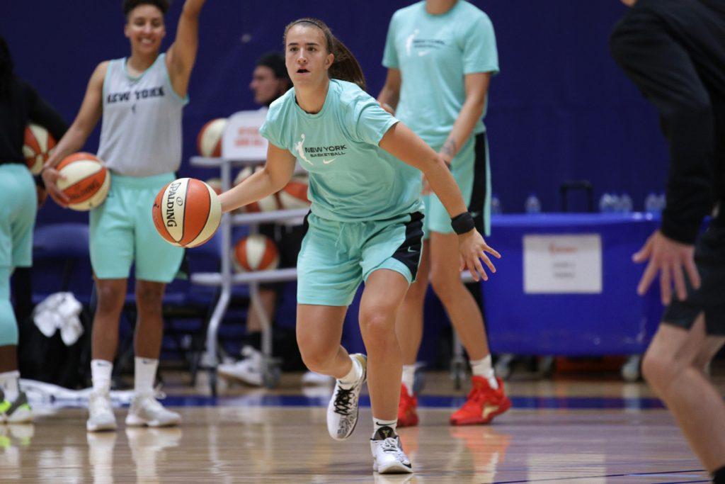 Liberty's Sabrina Ionescu finds convenience in WNBA bubble