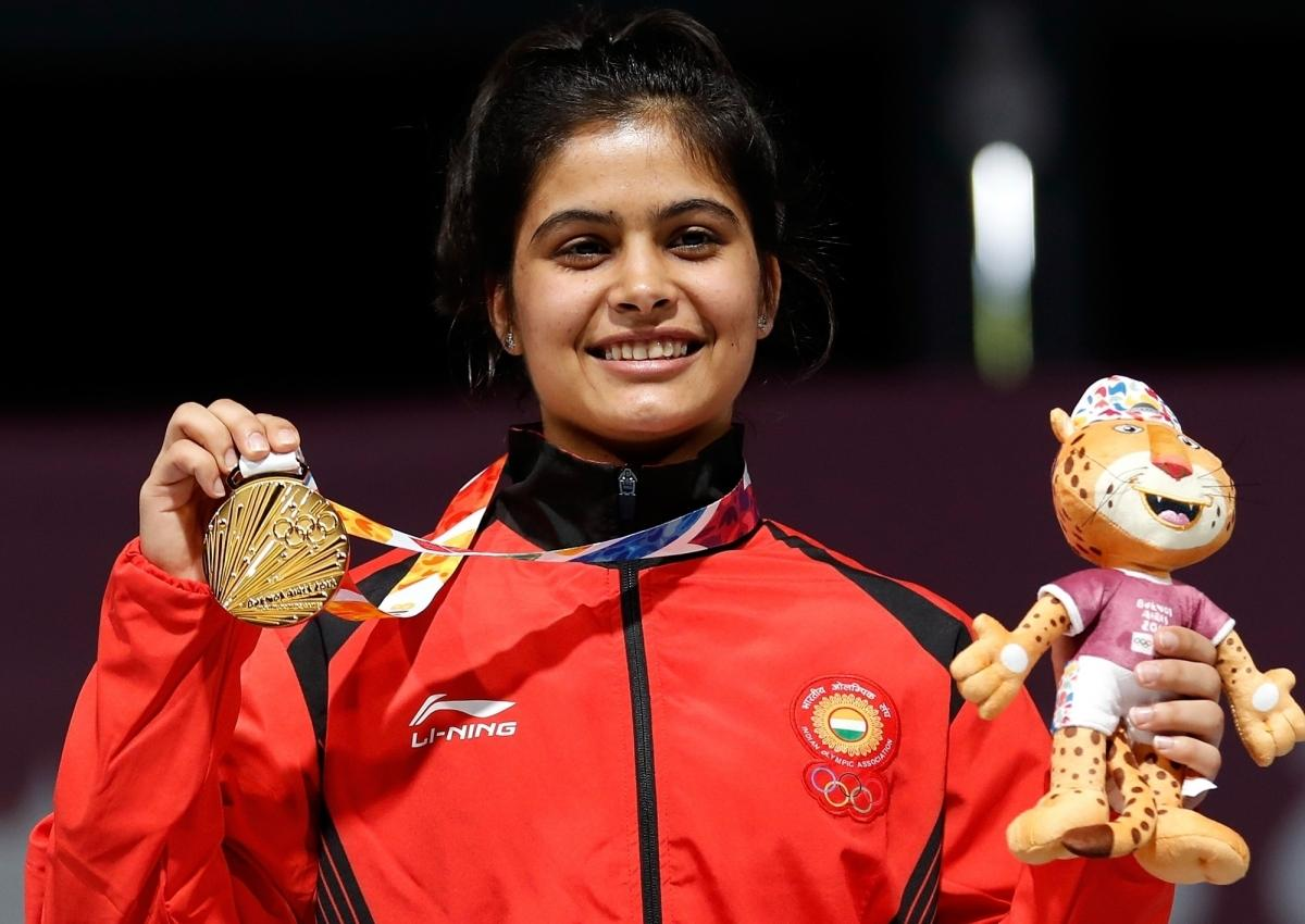 Bhaker to train for 25m pistol at Delhi