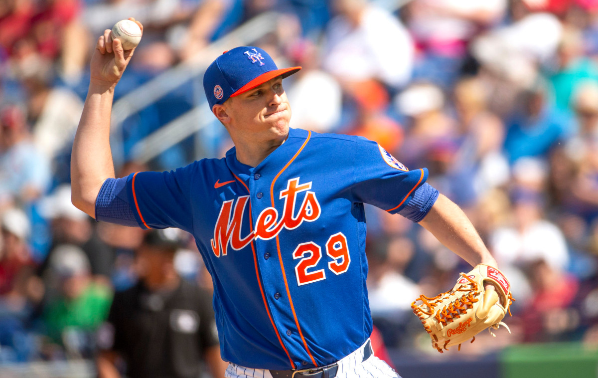 Mets' Brad Brach thankful family OK after coronavirus scare