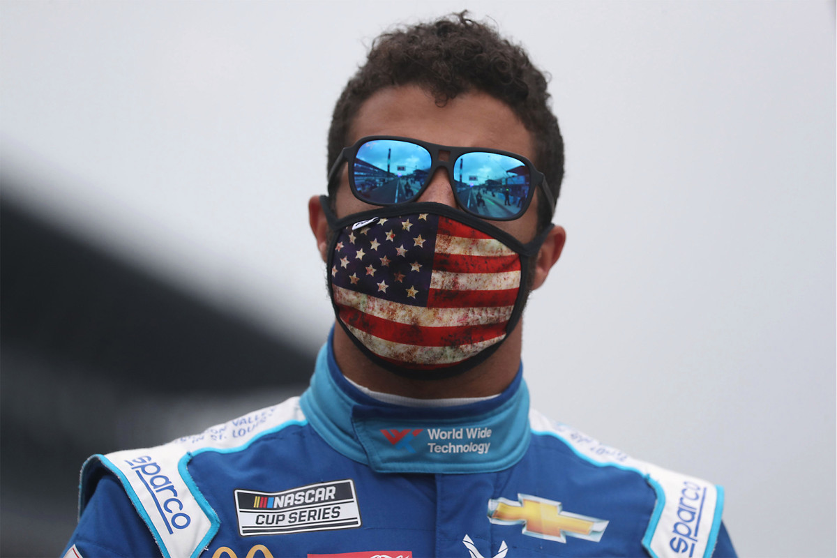 NASCAR's Bubba Wallace responds to Trump tweet