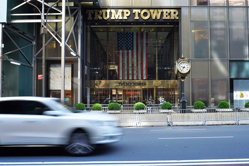 NYC to start painting Black Lives Matter mural outside Trump Tower