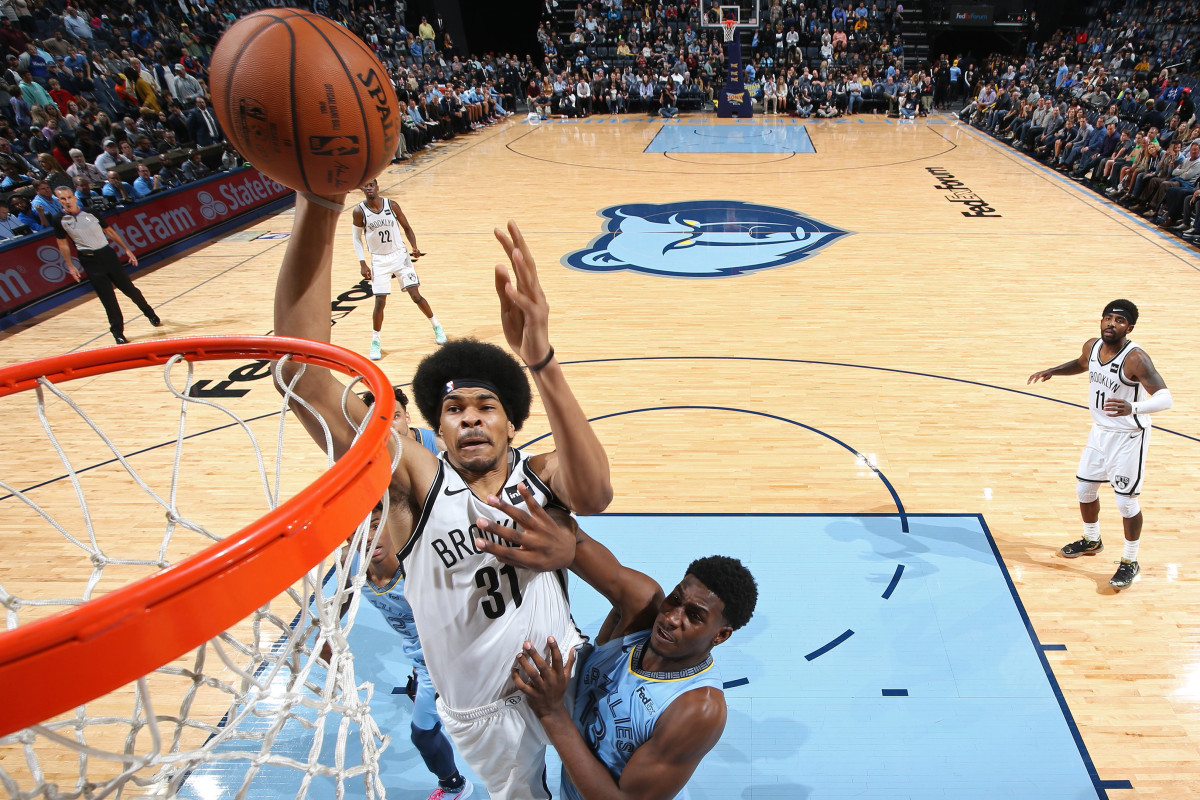 Nets plan on getting Jarrett Allen reinforcements for NBA restart
