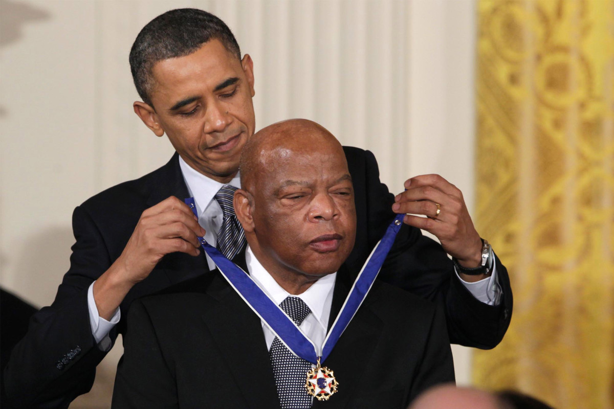 Obama will give eulogy at Rep. John Lewis' Atlanta funeral: say