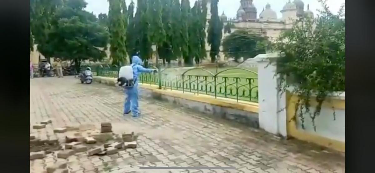 Mysuru Palace sanitation begins
