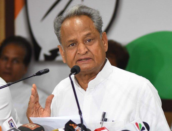 Rajasthan CM Ashok Gehlot alleges BJP trying to topple his govt, MLAs offered Rs 15 cr