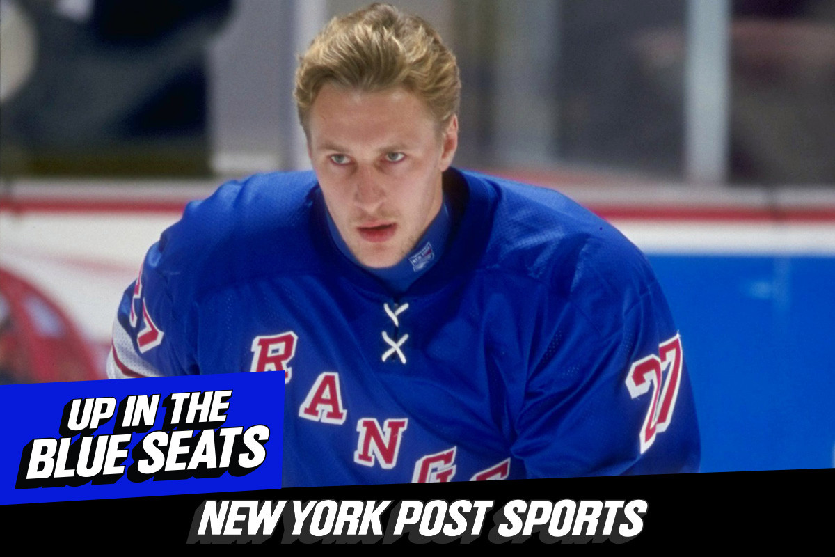 Rangers great Alexi Kovalev joins 'Up In The Blue Seat' podcast