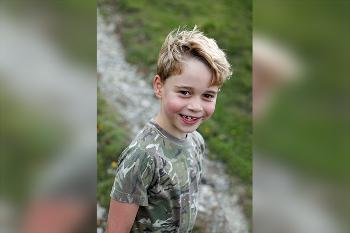 Royals release Prince George photos on his seventh birthday