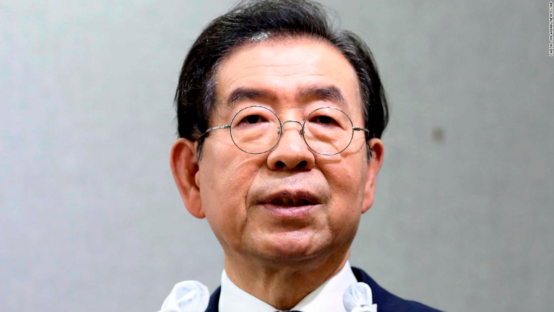 Seoul mayor Park Won-soon found dead, hours after he was reported missing