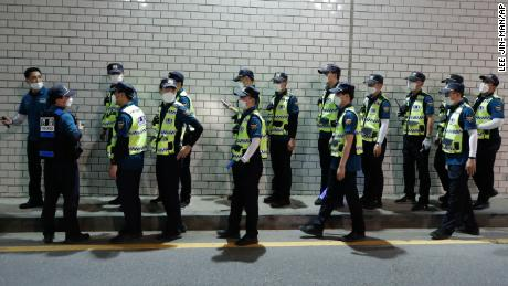 Hundreds of police officers were deployed to find the mayor on Thursday night.